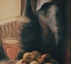 Nature morte au torchon - Huile sur toile - 61x46 - 1984.jpg