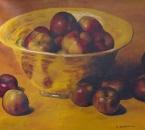 Nature morte aux pommes - Huile sur toile - 61x50 - Date inconnue.jpg