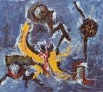 Composition - Huile sur toile - 73x60 - 1989.jpg