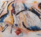 Composition - Technique mixte sur toile collée sur panneau bois - 130x89 - 1989 - Collection particulière.jpg