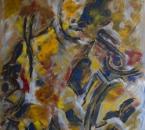 Le penseur ou L'homme à la cigarette - Huile sur toile - 65x81 - 1987.jpg