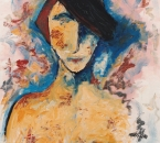 Lili - Acrylique et huile sur toile - 81x60 - 1987.jpg