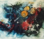 Sans titre - Acrylique sur toile - 200x150 - 1988 - Collection particulière.jpg