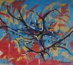 Sans titre - Huile sur toile collée sur panneau d'agglomere - 92x65 - 1988.jpg