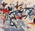 Symphonie - Acrylique sur toile collée sur panneau bois - 130x89 - 1989 - Collection particulière.jpg
