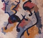 Vibration III - Huile sur toile - 73x54 -  1989.jpg