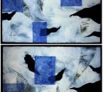 DIPTYQUE BLANC  - Acrylique Et Collage Sur Carton contrecollé sur panneau bois - 168x115 - 1998.jpg
