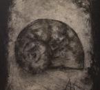 Escargot I - technique mixte sur toile - 100x81 - 1997.jpg
