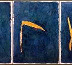 Les trois chants de lumière - Amour-Chemin-Regard - Acrylique Sur Toile - 291x130 - 1999.jpg