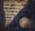 Sans titre - Acrylique et collage sur toile - 65x54 - 1996.jpg