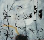Sans titre - Acrylique et collage sur toile - 81x65 - 1998 - Collection particulière.JPG