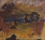 Sans titre - Technique mixte sur toile - 100x81 - 1998 - Collection particulière.jpg