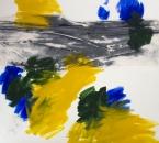 Peinture No 179 - Acrylique, pigment et tissus sur toile - 120x120 - 2019.jpg