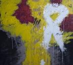 Peinture No 208 - Acrylique et pigments sur toile - 100x100 - 02-2021.jpg