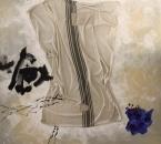Peinture No 213 - Acrylique, pigments et tissus sur toile - 120x120 - 2021.jpg