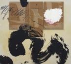 Peinture No 221 - Acrylique, encre, carton et crayon sur toile - 80x80 - 2021.jpg
